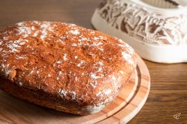 Dinkelbrot aus dem Römertopf Rezept