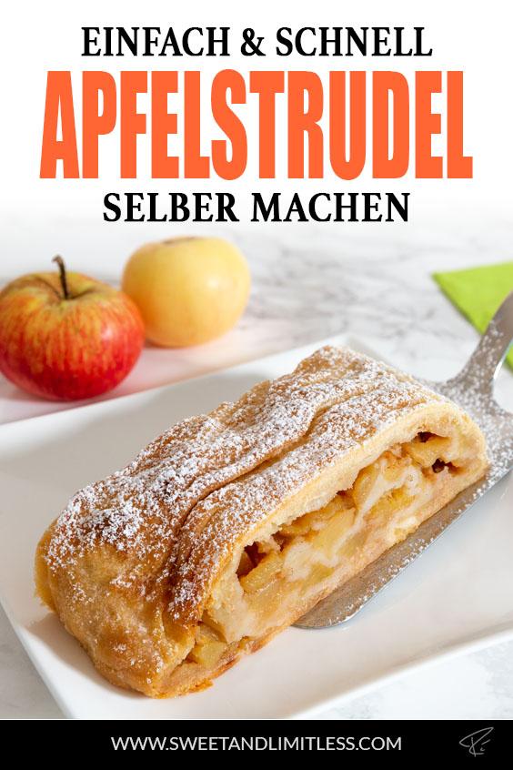 Apfelstrudel Pinterest Cover