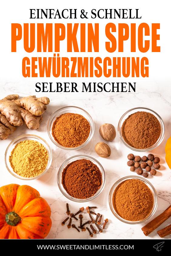Pumpkin Spice Gewürz Pinterest Cover
