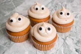 Pumpkin Spice Cupcakes Kürbismuffins Rezept
