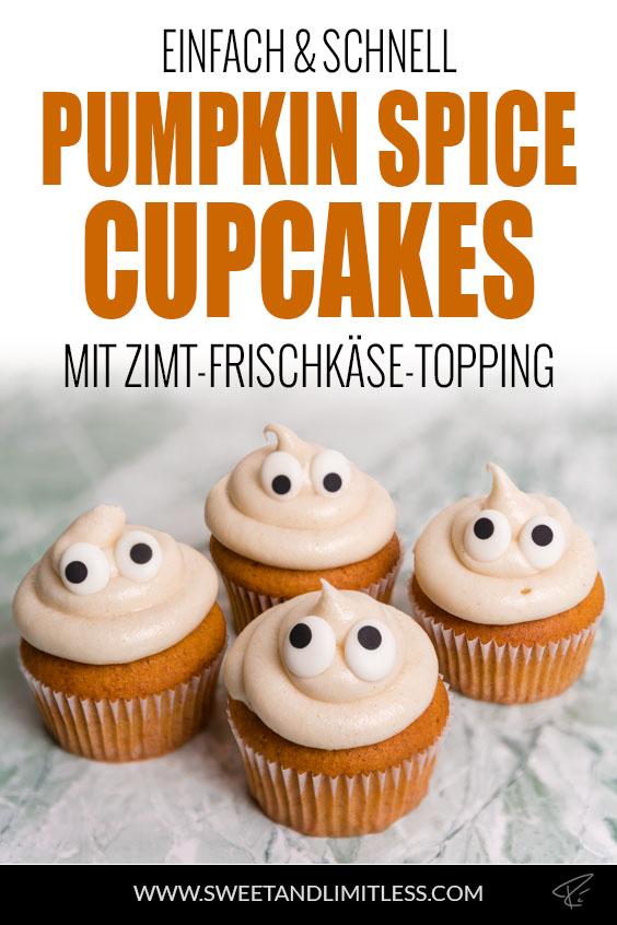 Pumpkin Spice Cupcakes Pinterest Cover