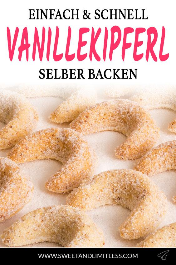 Vanillekipferl Pinterest Cover