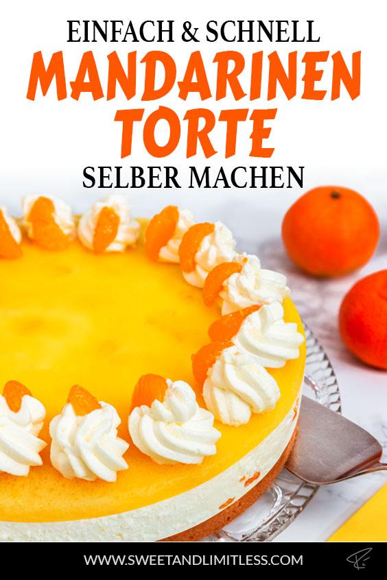 Mandarinentorte Pinterest Cover