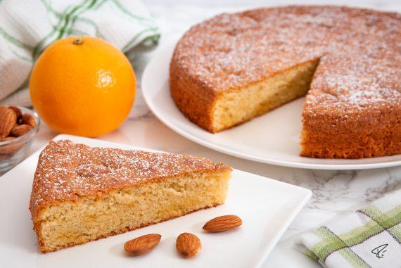 Spanischer Mandelkuchen gató de almendra Rezept