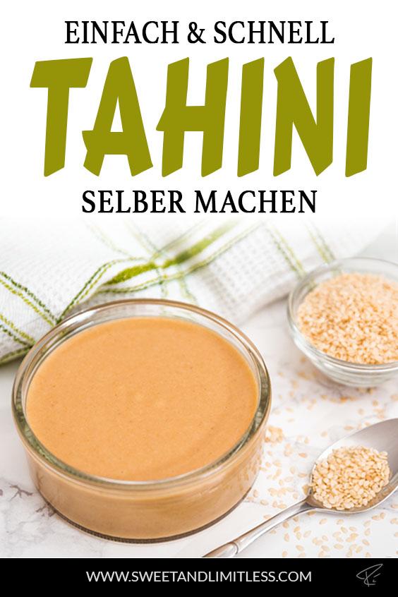 Tahini Pinterest Cover