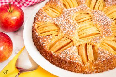Versunkener Apfelkuchen Schlupfkuchen Rezept